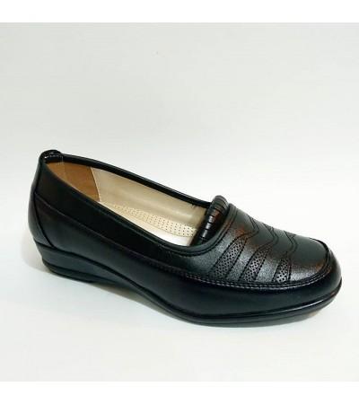 Frida Siyah Ortopedik Anne Ayakkabı