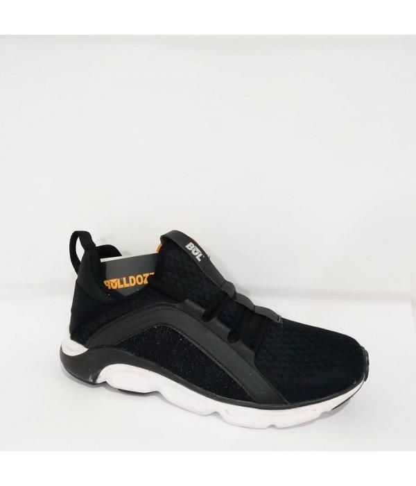 Bulldozer Tam Ortopedik Yazlık Erkek Siyah Spor Ayakkabı