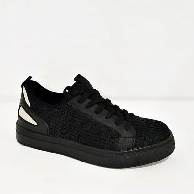 Bulldozer Yazlık Erkek Siyah Spor Ayakkabı