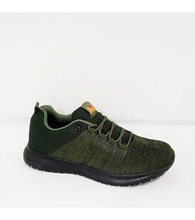 Bulldozer Yazlık Yeşil Bağcıklı Erkek Spor Ayakkabı