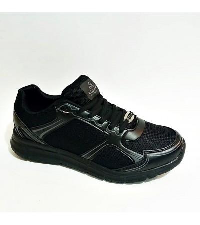Liger Unisex Siyah Yazlık Ortopedik Spor Ayakkabı