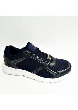 Liger Unisex Lacivert Bayaz Yazlık Ortopedik Spor Ayakkabı