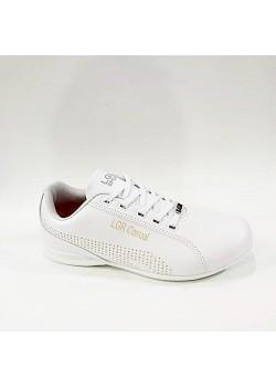 Liger Düz Taban Beyaz Erkek Spor Ayakkabı