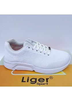 Liger Yazlık Beyaz Erkek Bayan Spor Ayakkabı