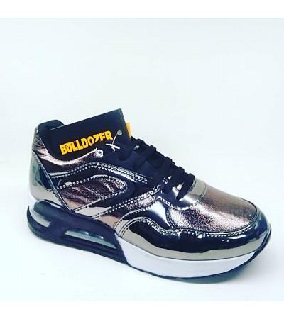 Bulldozer Bayan Günlük Gri Spor Ayakkabı