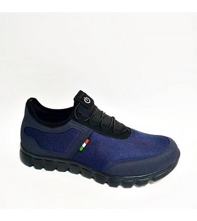 45 46 47 Büyük Numara Lacivert Erkek Spor Ayakkabı