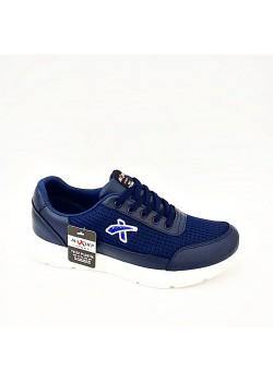 Lacivert Bağcıklı Yazlık Erkek Spor Ayakkabı