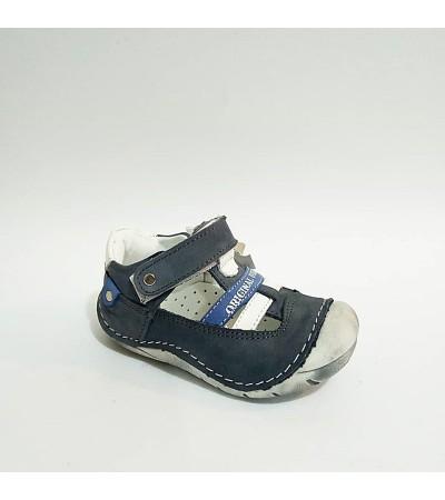 Sanbe GRİ Hakiki Deri Tam Ortopedik İlk Adım Erkek Bebek Ayakkabısı