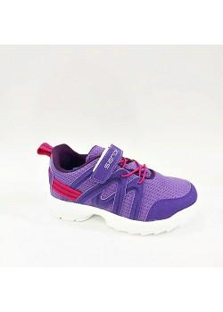 Sanbe Cırtlı Mor Kız Çocuk Spor Ayakkabı